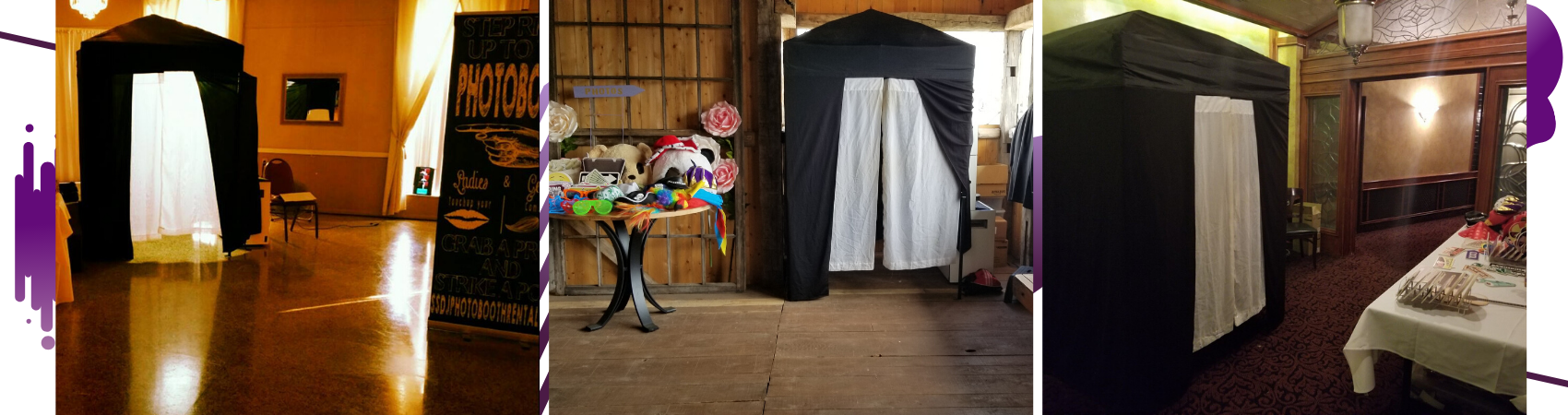 Photo Booth and Props for Party Photos