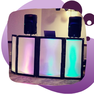Super Sound Light-Up DJ Booth